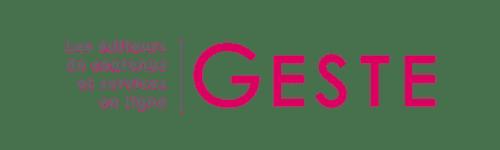 Le logo Le GESTE